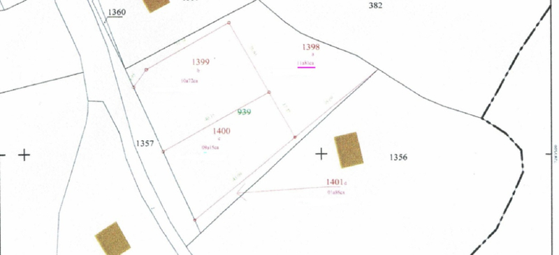 Terrain constructible disponible à Treouergat près de Milizac